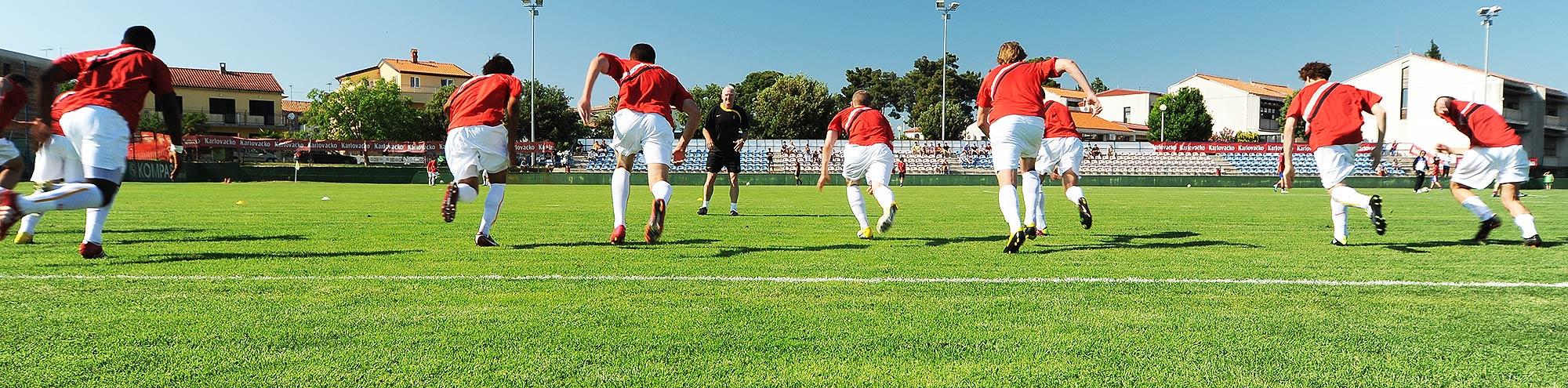 Sports training camps in Croatia