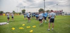 Fußball Trainingslager Novigrad