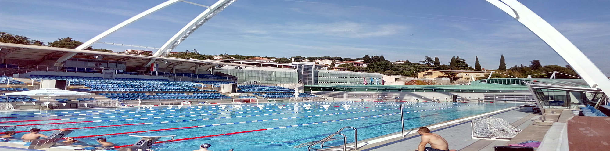 Swimming training camps in Croatia, Slovenia, Cyprus
