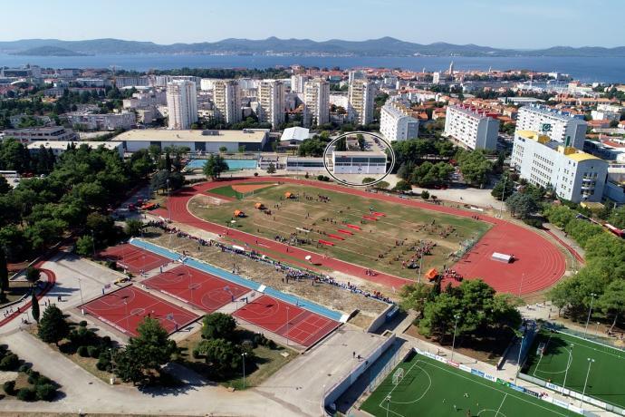 Gymnastics training camp Zadar